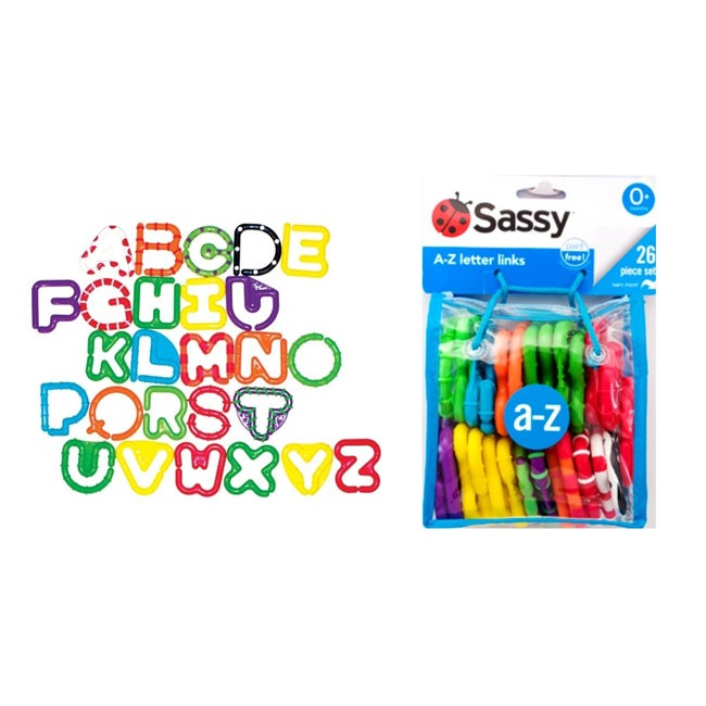 Sassy A-Z Letter Links