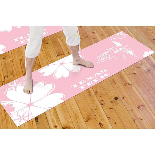 Fanmats Texas Tech University Yoga Mat