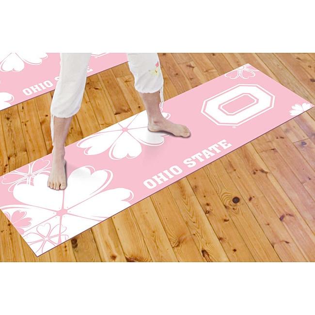 Fanmats Ohio State University Yoga Mat