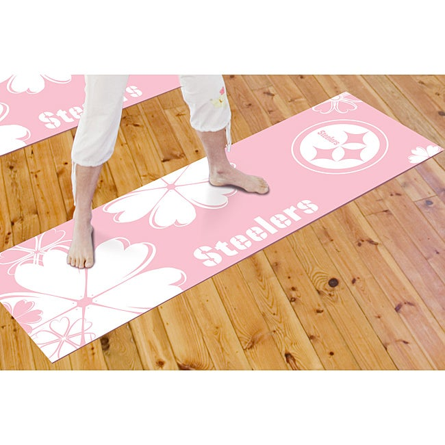 Fanmats Pittsburgh Steelers Yoga Mat