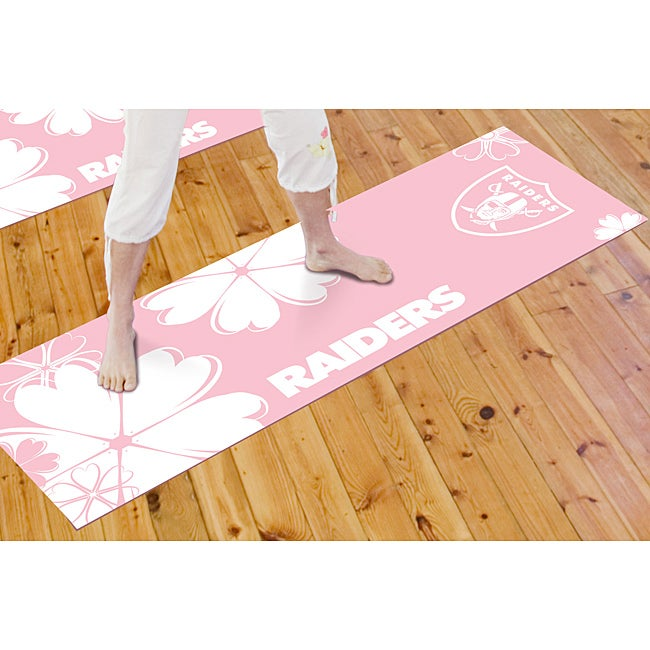 Fanmats Oakland Raiders Yoga Mat