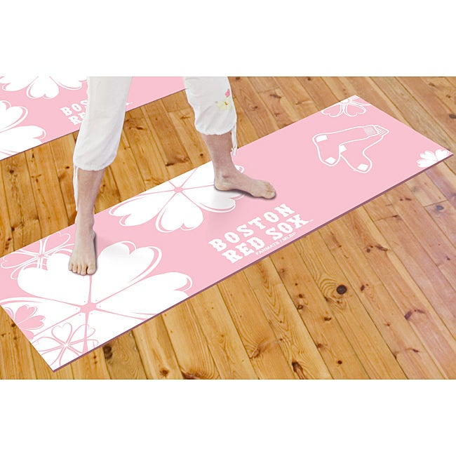 Fanmats Boston Red Sox Yoga Mat - Thumbnail 0