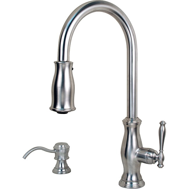 Pfister Hanover Pull Down Stainless Kitchen Faucet Free Shipping Today 13937003