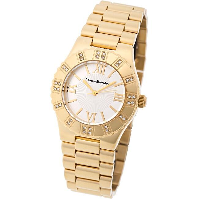 Yves Bertelin Paris Women's Goldtone Stainless Steel Watch