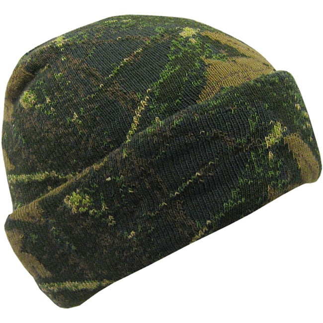 Quiet Wear Digital Knit Camo Cuff Cap