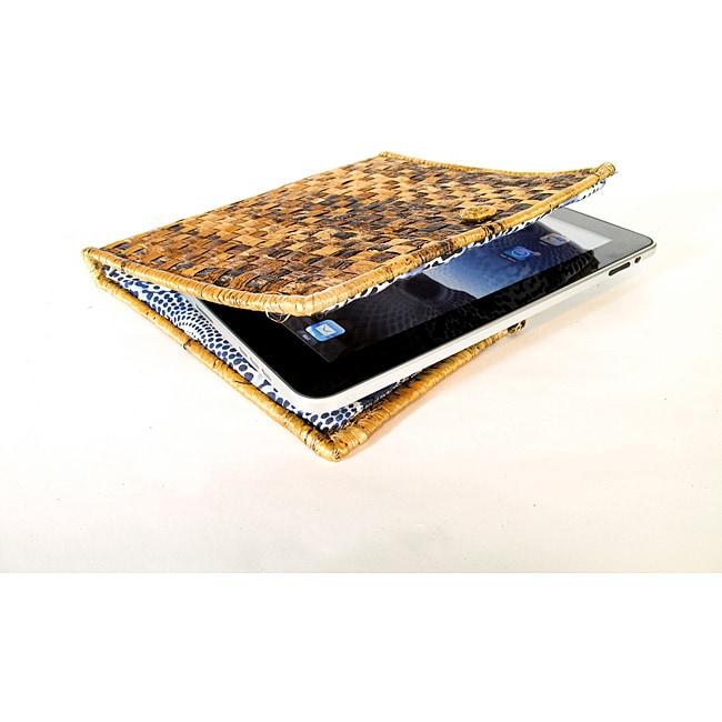 Woven Banana Leaf iPad Case (Rwanda)
