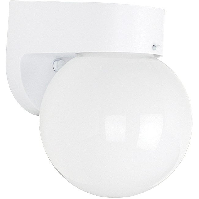 One Light Poly Wall Fixture