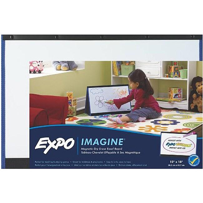 Children's Expo Imagine Magnetic Dry Erase Easel Board