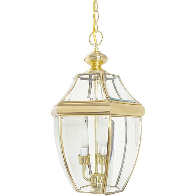 Three-light Curved Lantern