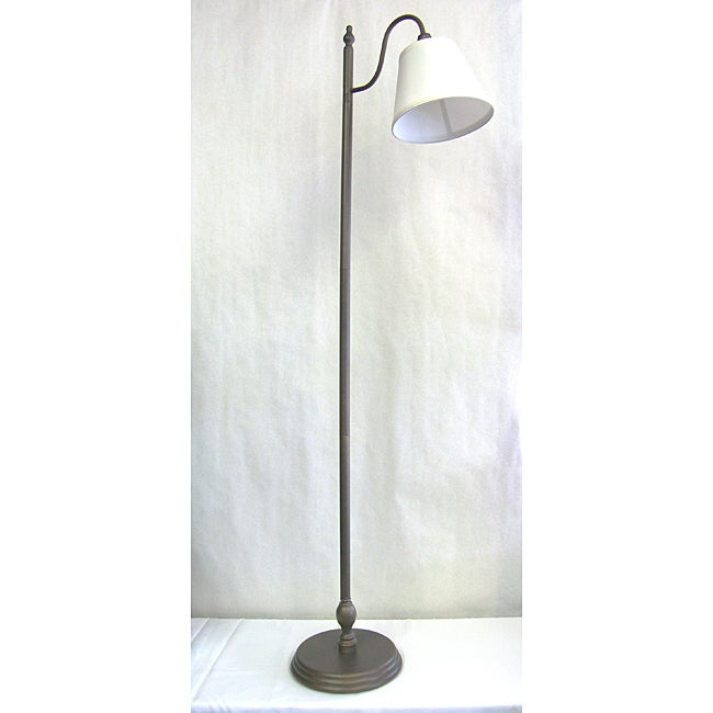 Transitional One-light Pebble Brown Floor Lamp