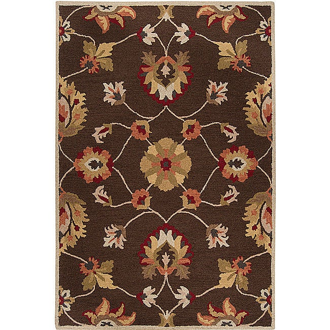 Shop Hand Tufted Abingdon Wool Rug 5 X 8 Free
