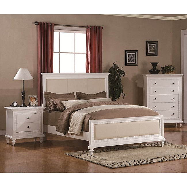 Kingdom White 3 Piece Queen Size Bedroom Set Free Shipping Today 13945987