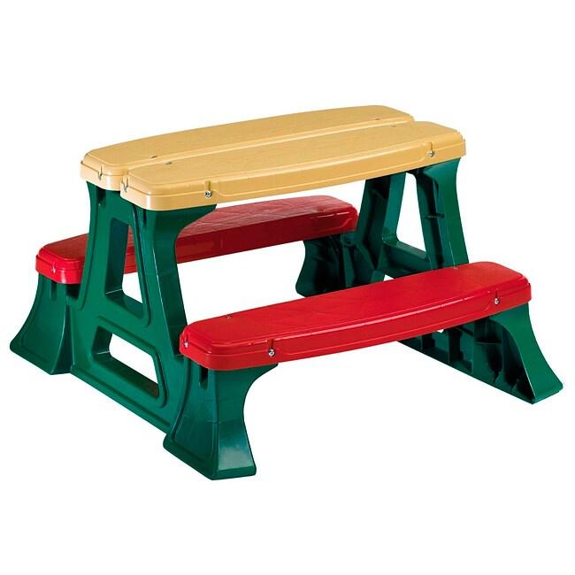 Heavy Duty Plastic Children's Picnic Table