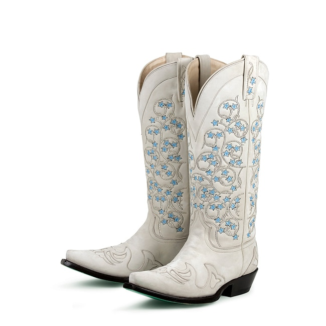 Lane Boots Women's 'Tangled Vines Wedding' Cowboy Boots - Free ...