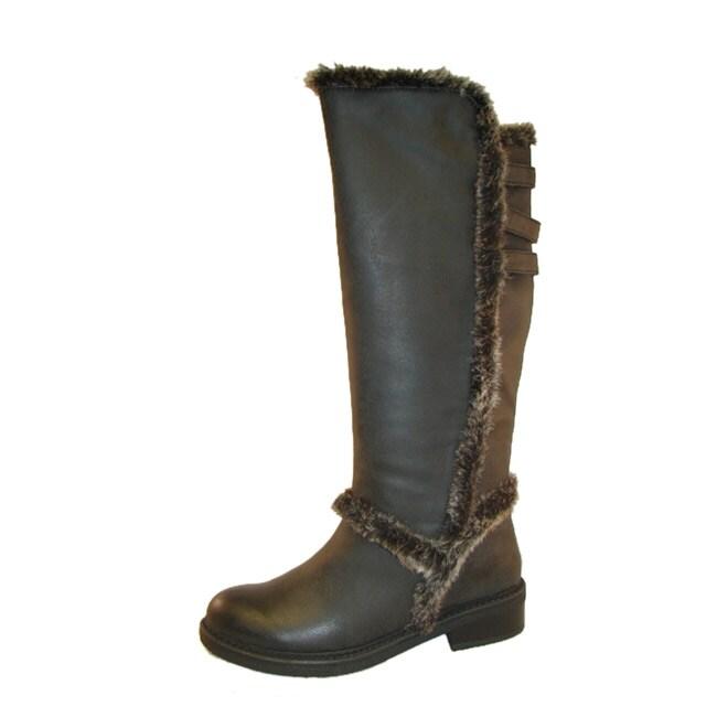 Bucco Women's Black 'Junette' Riding Boots