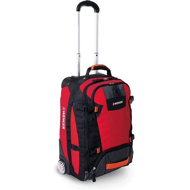 Wenger SwissGear Sierre II Red 21-inch Carry-on Upright