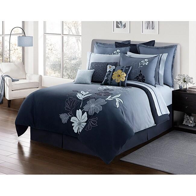 Nayla Queen-size 4-piece Comforter Set