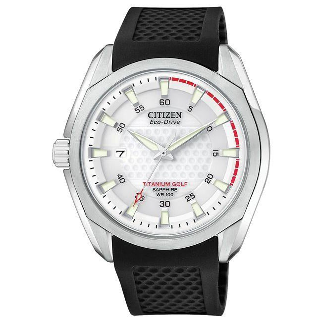 Citizen Men's Titanium Eco-Drive Golf Watch