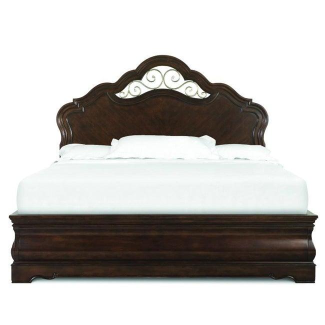 Ellington manor king size 5 piece island bedroom set for Ellington bedroom set