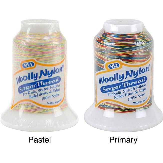 Woolly Variegated 1000 Meter Nylon Thread