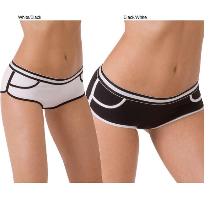 Ilusion Women's Cotton Low-rise Sporty Boxer