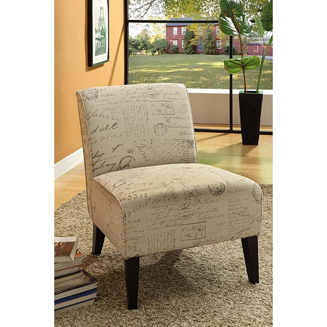 Vintage French Fabric Sleeve Chair - Thumbnail 0