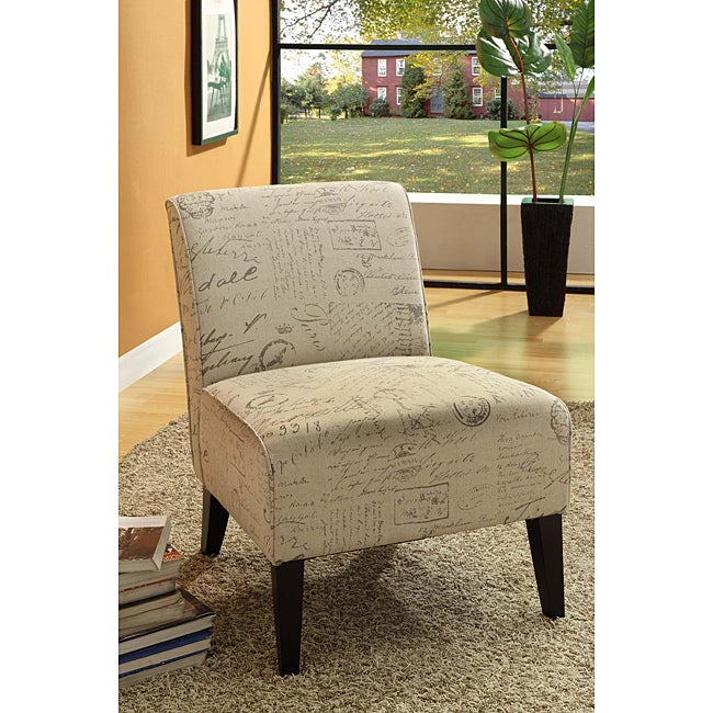 Vintage French Fabric Sleeve Chair