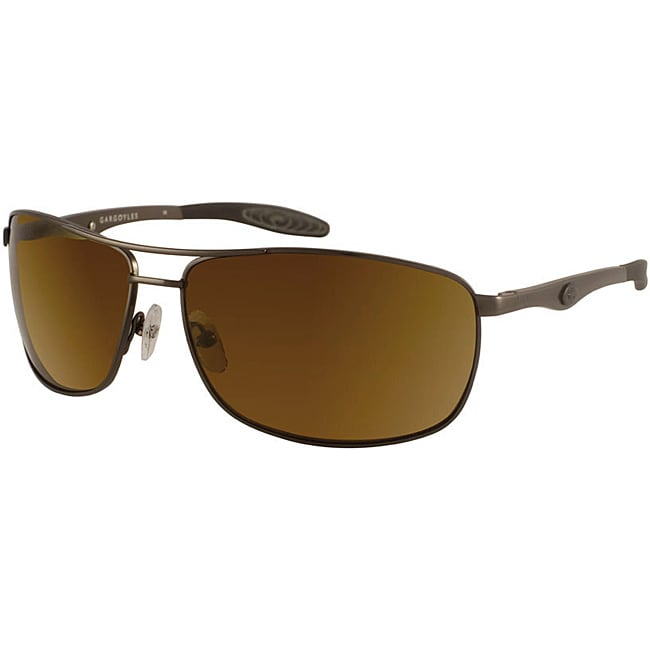 Gargoyles Men's 'Interval' Sport Aviator Sunglasses