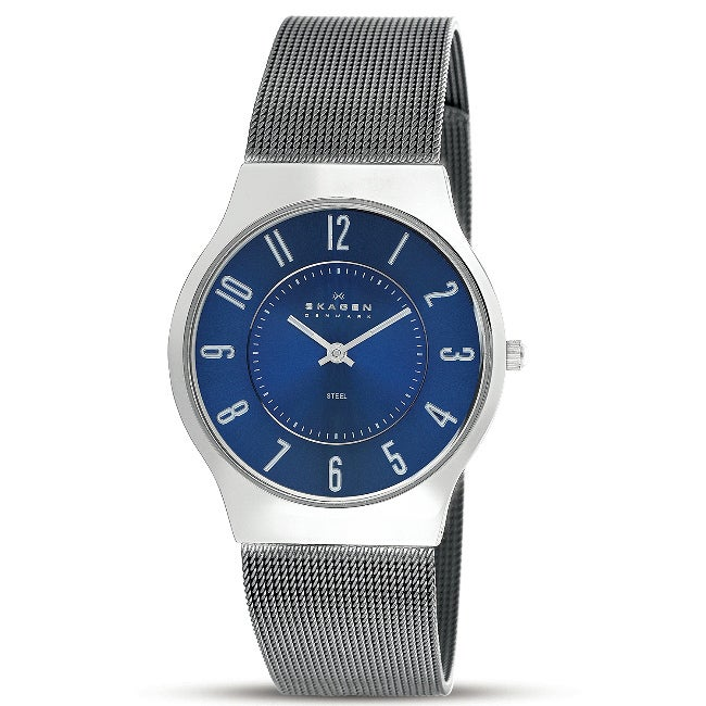 Skagen Men's Slimline Gunmetal Watch