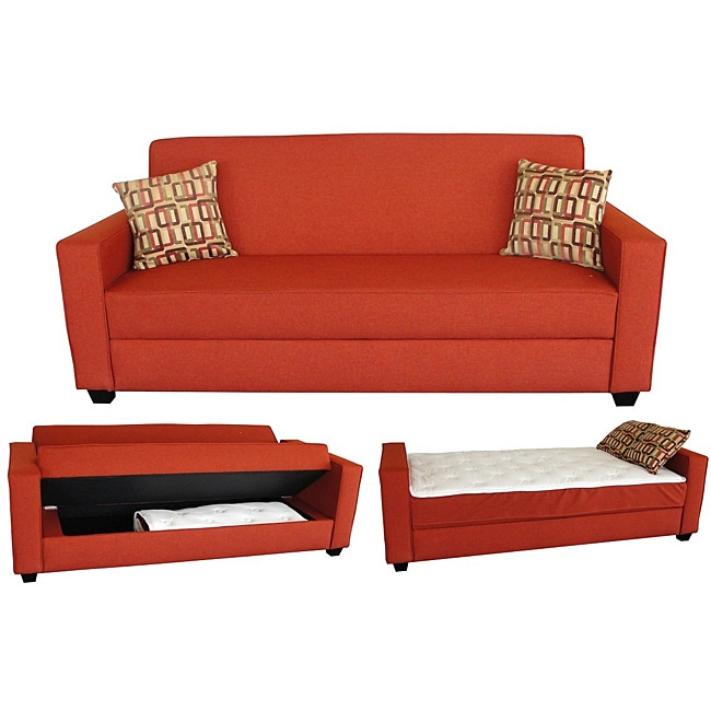 Turner convertible sofa bed free shipping today for Sofa bed overstock