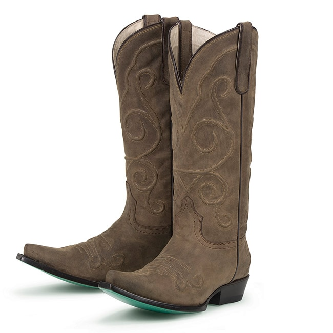 Lane Boots Women's Embossed Cowboy Boots