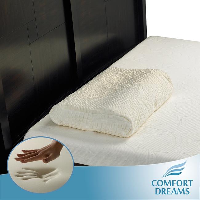 Comfort Dreams Molded Memory Foam Contour Pillow