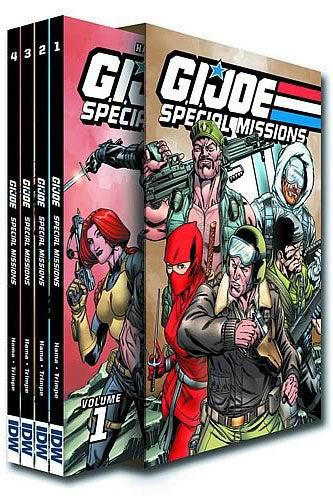 G.i. Joe: Special Missions Box Set (Hardcover)