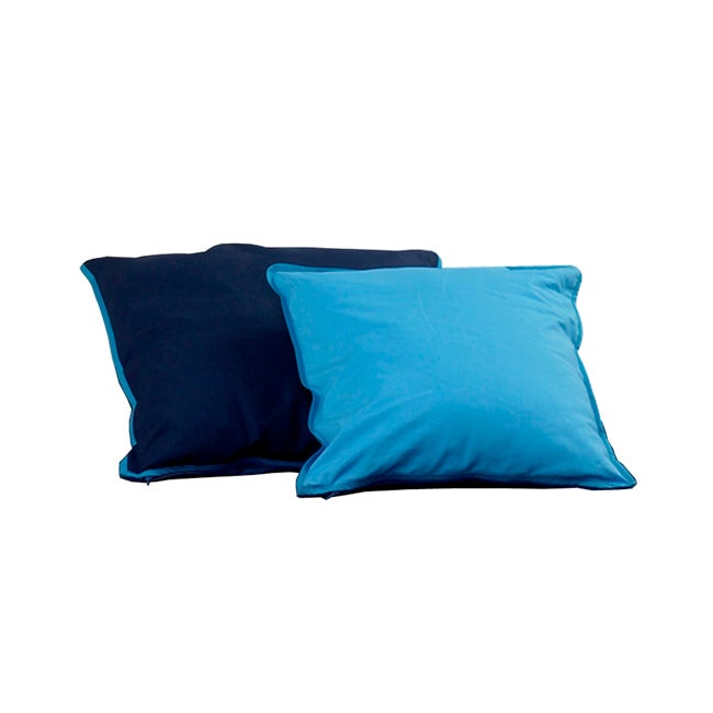 Popsicle Blue Cushion Covers (Set of 2)