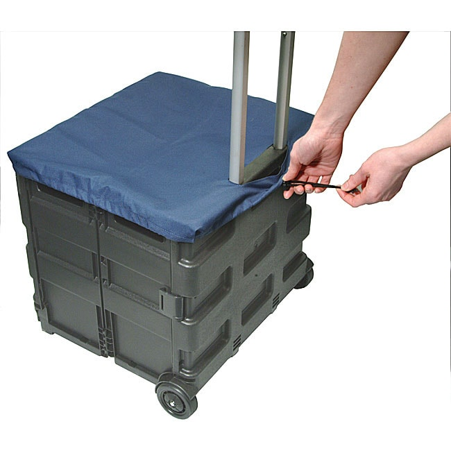 Helix Folding Crate Trolley