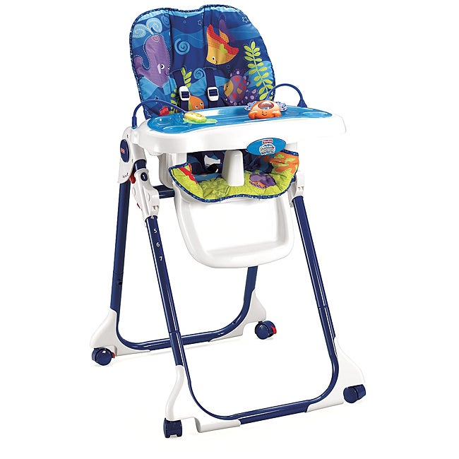 Fisher Price Ocean Wonders Healthy Care High Chair Free