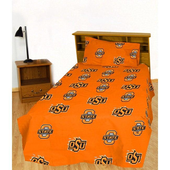 Oklahoma State University Cowboys Sheet Set