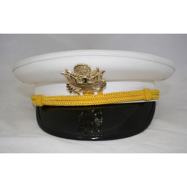 Ferrecci Men's White Cadet Hat