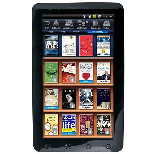 """Pandigital Novel R91L256 9"""" Color Multimedia eReader"""