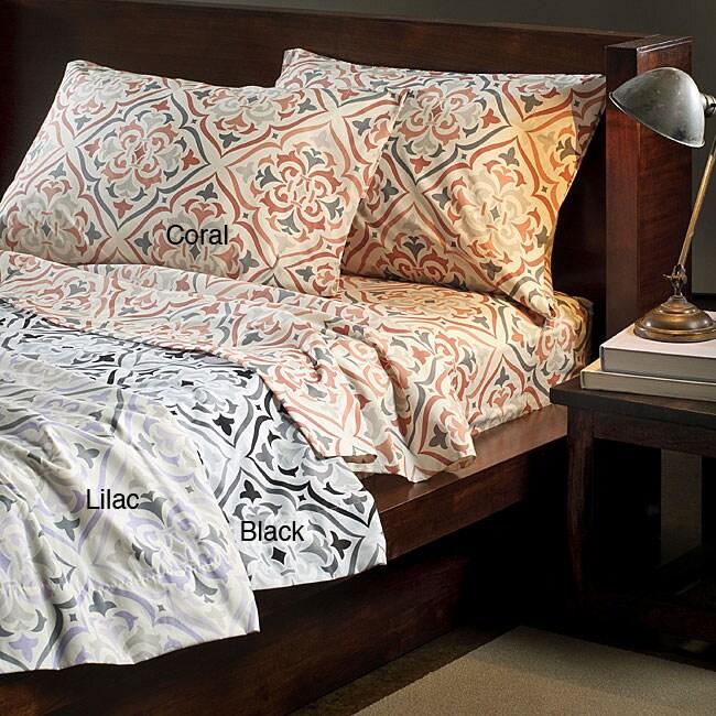 Bonaire Cotton Blend 300 Thread Count Full-size Sheet Set