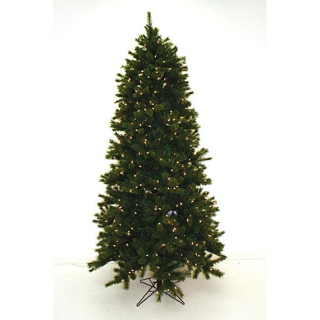 Good Tidings Sherwood 500 Clear Lights 7.5-foot Christmas Tree