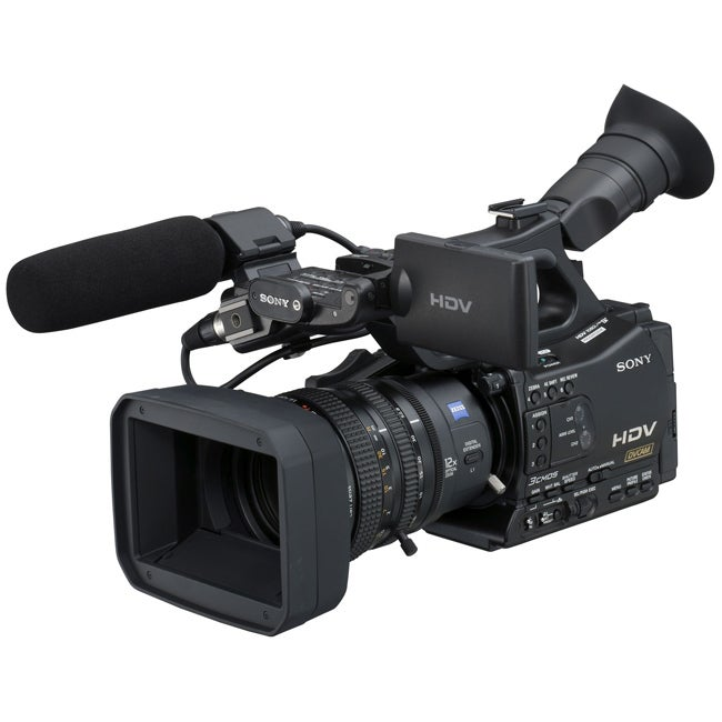 Sony HVR-Z7U HDV Professional Video Camcorder - Thumbnail 0