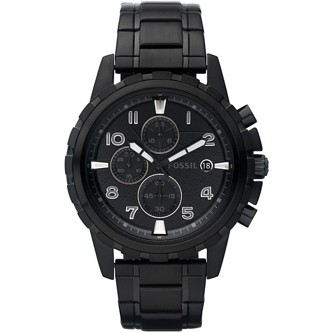 Fossil Men's 'Dean' Stainless Steel Chronograph Watch