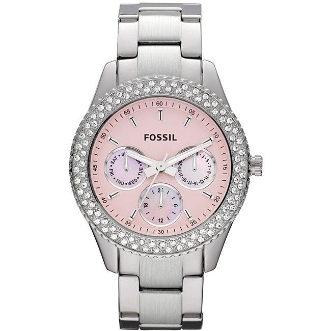 Fossil Women's 'Stella' Stainless Steel Glitz Watch
