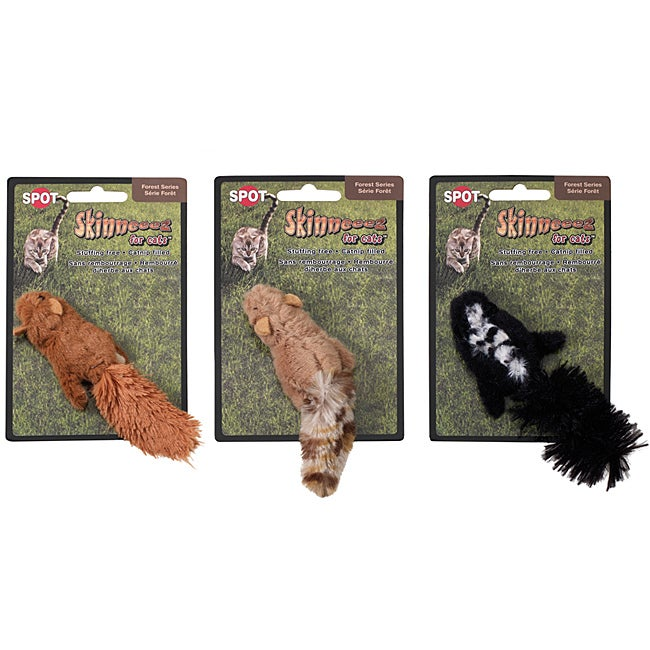 Skinneeez for Cats 'Catnipped Forrest Friends' Toy Assortment