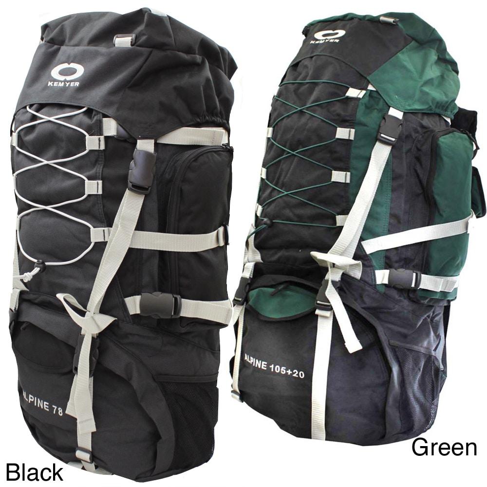 Kemyer 5500 Deluxe Internal Frame Hiking Backpack