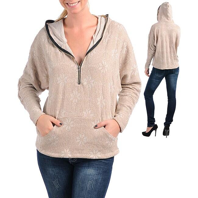 Stanzino Women's Sandy Colored Winter Sweater