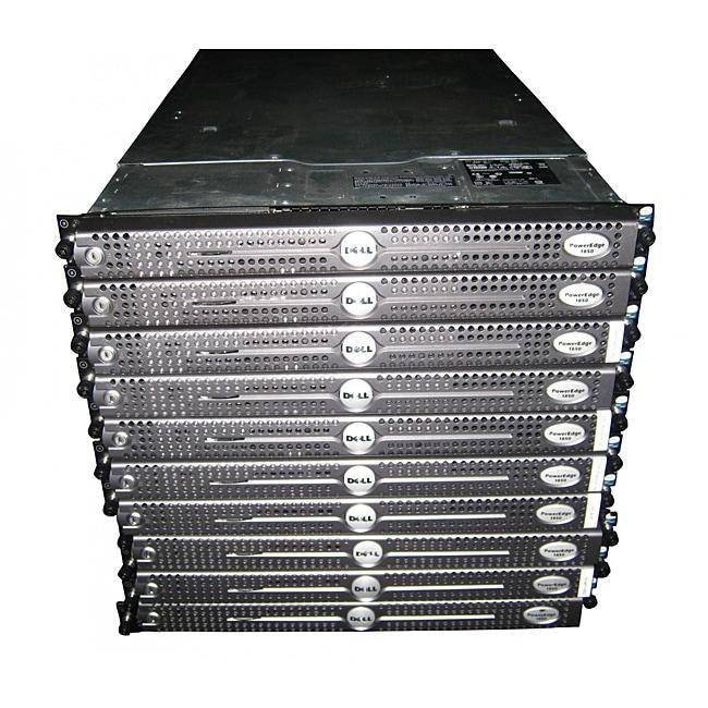 Dell PowerEdge 1850 3.2GHz 1u Rackmount Server (Pack of 10) (Refurbished)