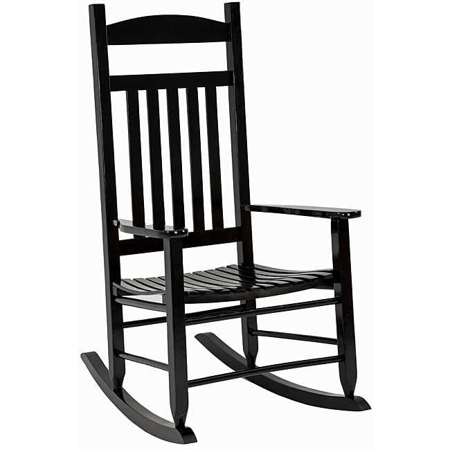 Shop Knollwood Mission Style Porch Rocker Free Shipping