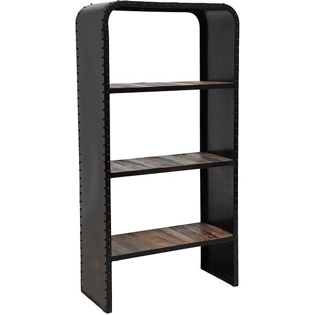 Kosas Home Brix Dark Bronze Bookshelf